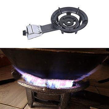 Lolicute - Estufa de Gas de propano Portátil para Acampada o Camping para Uso al Aire Libre, Envío de EE. UU.: Amazon.es: Jardín
