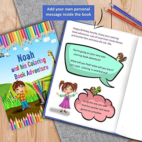Amazon Customized Kids Coloring Book