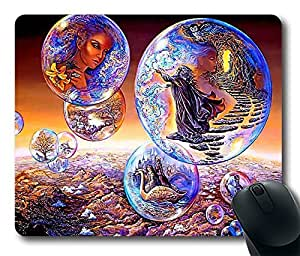 Bubble World From Mountain DIY Design Custom Mouse Pad Gaming Mousepad in 220MM*180MM*3MM -214071 by ruishername