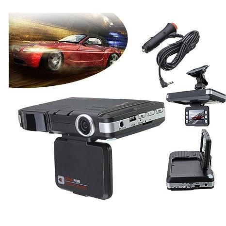 BOOMdan tacógrafo 2 en 1 multifunción 5 MP coche DVR grabadora + Radar Detector de velocidad
