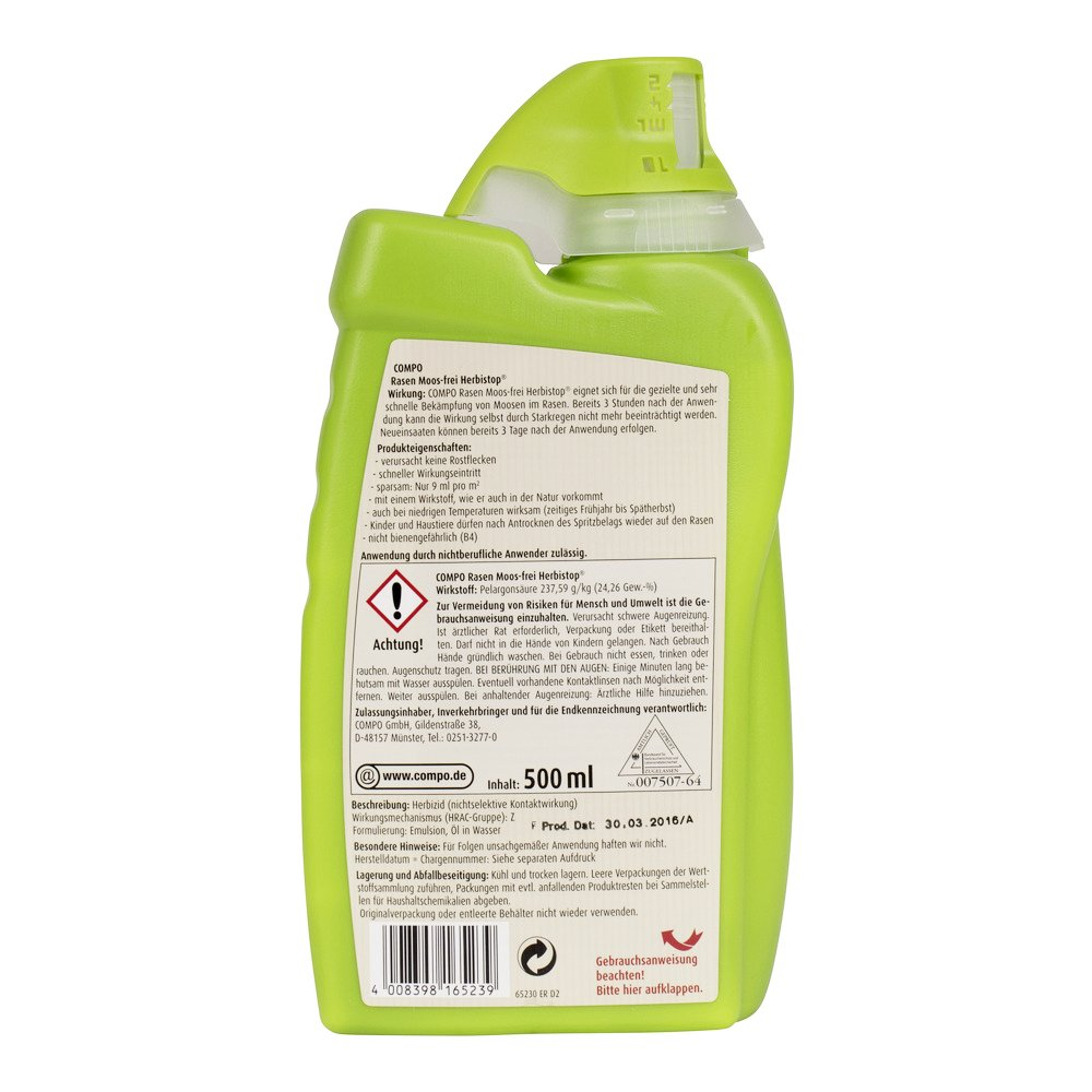 Besondere Len compo 26523 grass without foam herbi stop 500 ml amazon co uk