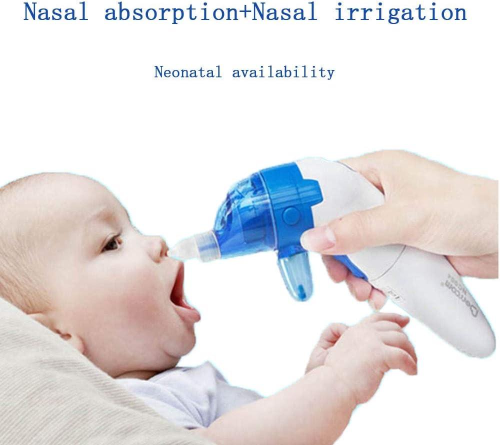 WSJS Aspirador Nasal para bebés 2 en 1 Kit de Enjuague para Senos ...