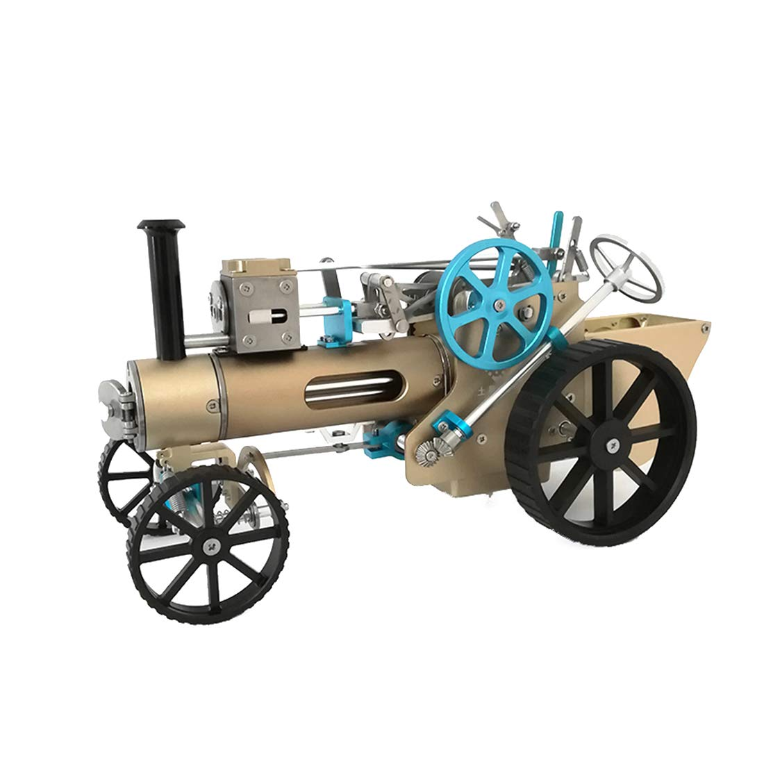 POXL Metal Steam Car Engine