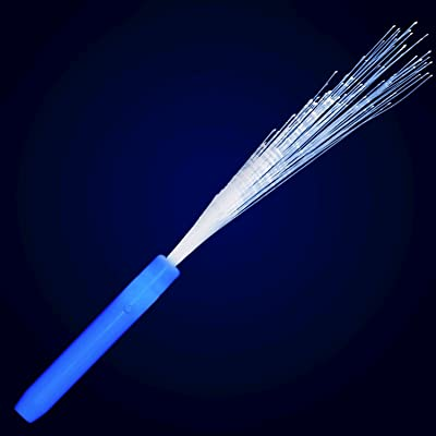 blinkee Blue Fiber Optic Wands with Blue LEDs by: Toys & Games