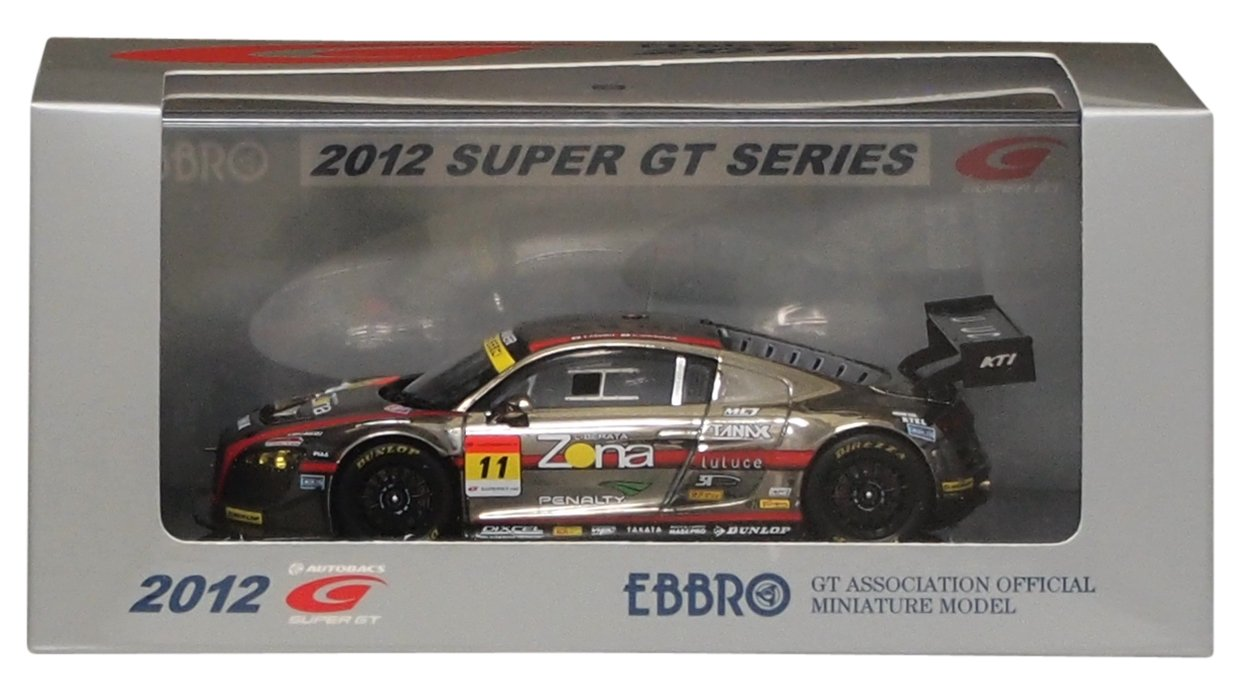 EBBRO 1 43 GAINER DIXCEL R8 LMS 2012   11 (japan import)