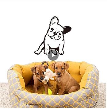 Bulldog francés Melancolía Perro Mascota Vinilo Etiqueta de la ...