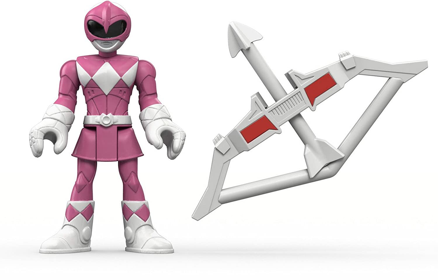 Import DFX60 Fisher-Price Imaginext Power Rangers Pink Ranger /& Pterodactyl Zord Fisher Price