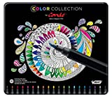 BIC Color Collection by Conte Adult Coloring Felt Pens, Assorted box of 20