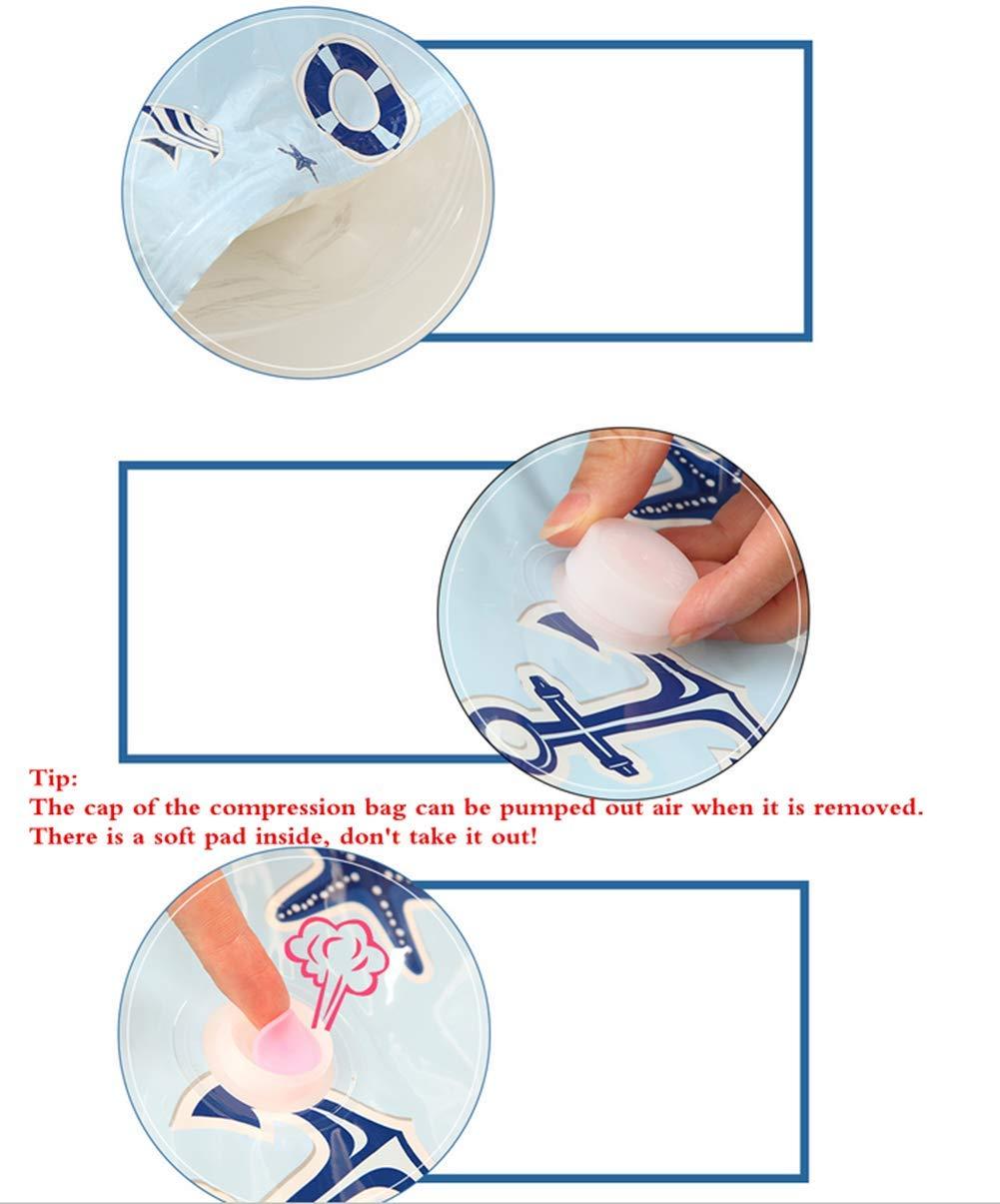 Sacchetti Sottovuoto Salvaspazio Morbuy Riutilizzabili per Vestiti Piumoni Coperte Lenzuola Cuscini Tende Compressione Roll Up Sacchetto Viaggio Abiti Rosa,11 Confezioni