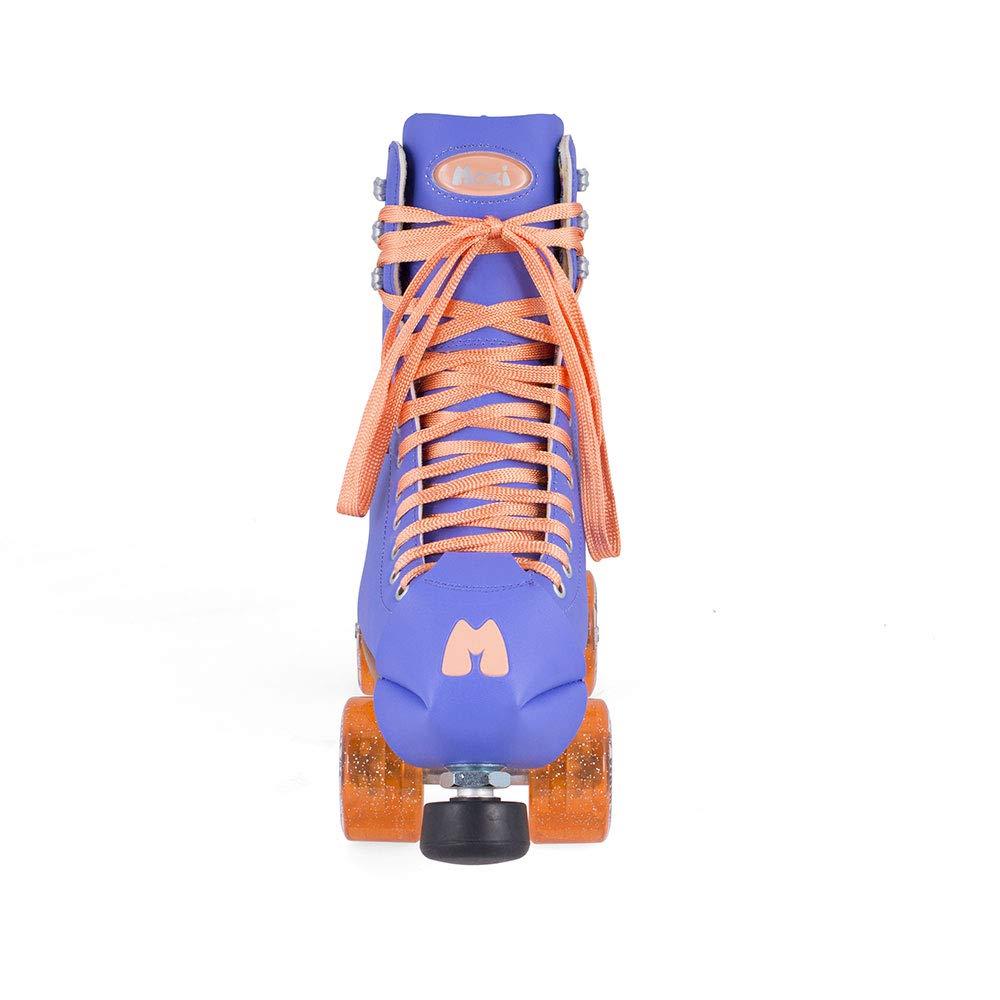 Moxi Skates - Beach Bunny - Fashionable Womens Roller Skates | Periwinkle Sunset | Size 3 by Moxi (Image #3)