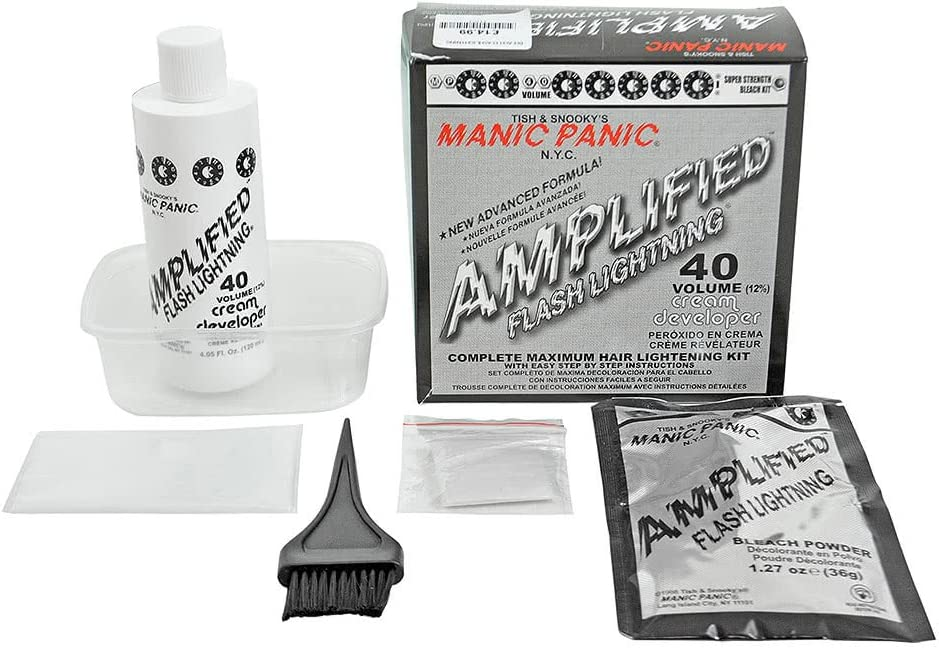 Manic Panic Amplified Hair Bleach Flash Lighting Kit by Manic Panic