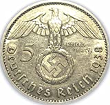 Germany %2D German Silver Five Reichsmar