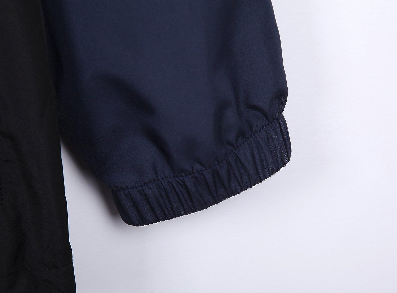 TWain Mens Warm Up Body Building Sports Windbreaker Jacket