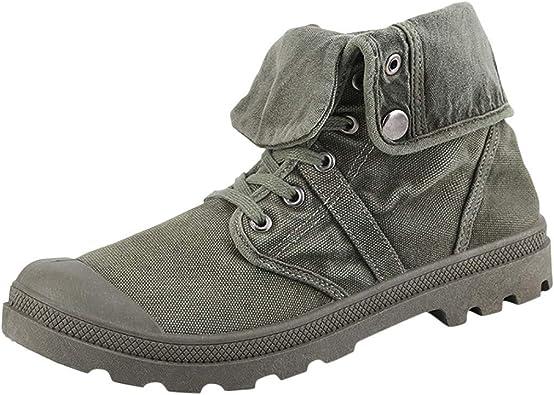 Men's High top Shoes Canvas Shoes