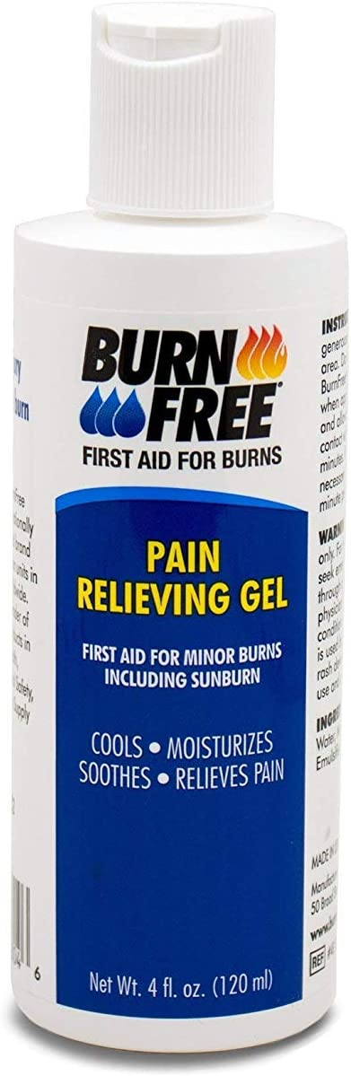 Burn Free Pain Relieving Gel, Maximum Strength- Fast relief for minor burns including sunburn: Home Improvement