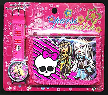 Monster High Cartera Reloj Juego Para Ninos Ninas Regalo Ideal