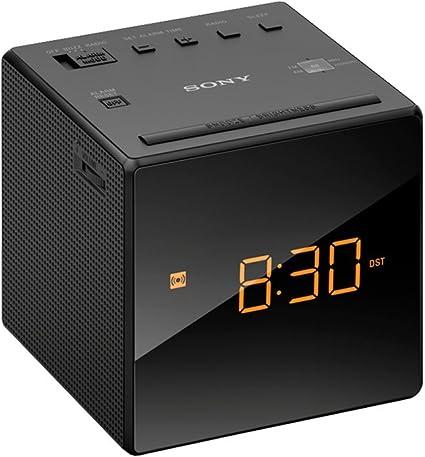 Sony ICF-C1 - Radio despertador con pantalla LED, negro: SONY ...
