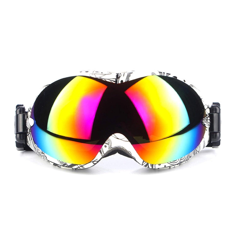 Fahrradbrille Herren Damen Herren Professionelle Skibrille Sphärische Bunte Anti Fog Skibrille Spiegelsportbrillen Klettert