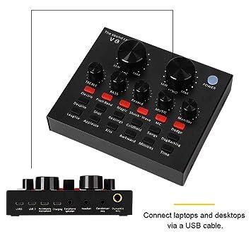 Diyeeni Consola mezcladora de Audio móvil, Multifuncional ...