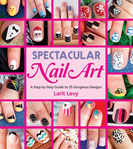Spectacular Nail Art: A Step-by-Step Guide to 35 Gorgeous Designs from imusti