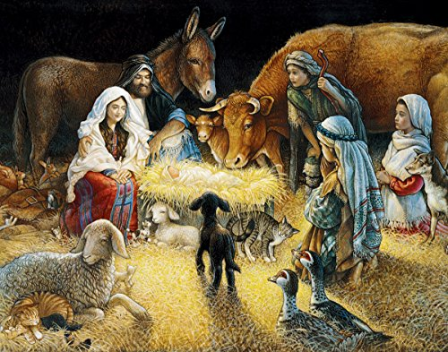 White Mountain Puzzles O Night Divine - 1000 Piece Jigsaw Puzzle