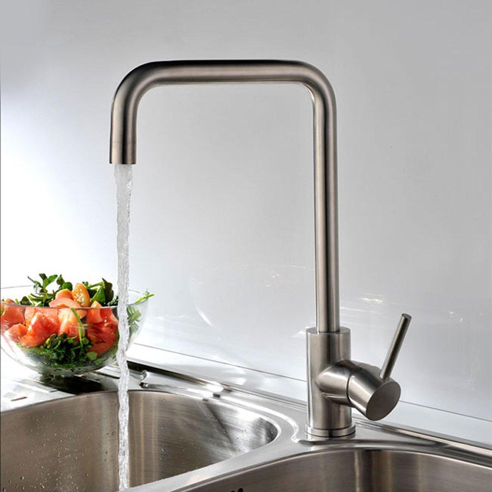 KES 360° Wasserhahn Tischarmatur Einhandmischer Küchenarmatur ...