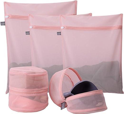 Zippered Mesh Laundry Wash Bags For Delicates Bra Lingerie Socks Underwear hw