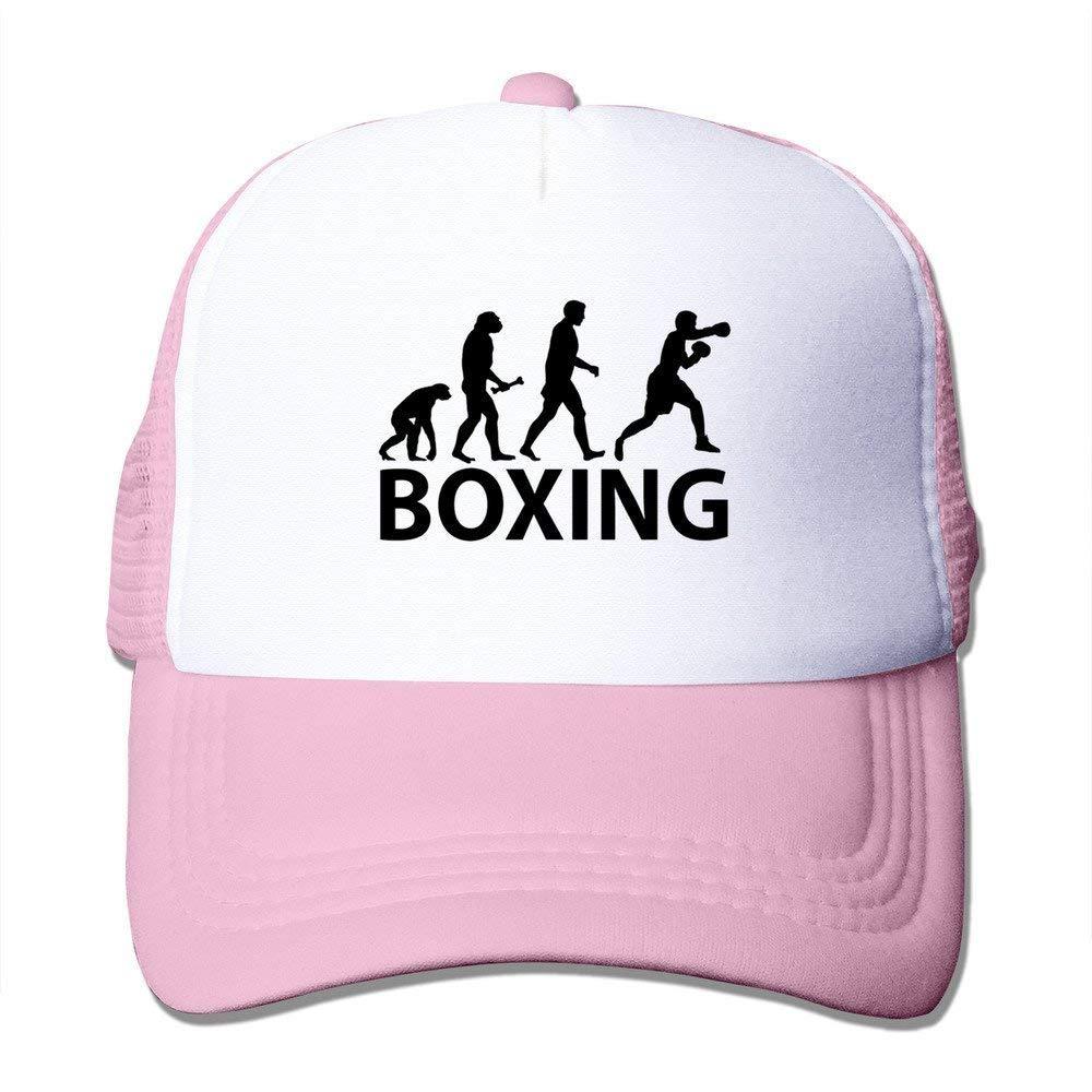Nifdhkw Gorra Entallada Evolución del Boxeo Multicolor33: Amazon ...