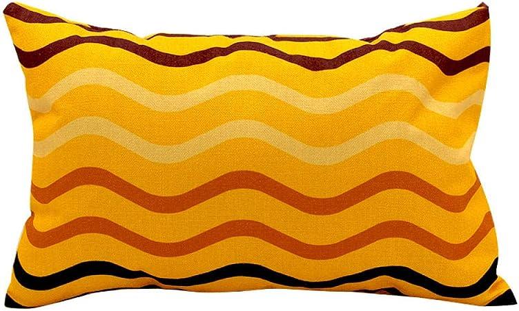 YTRGED Cojín Cojín Cojín Algodón geométrico Algodón PP Multicolor Sofá Cuadrado para Sala de Estar-UNA_Los 40X35CM: Amazon.es: Hogar