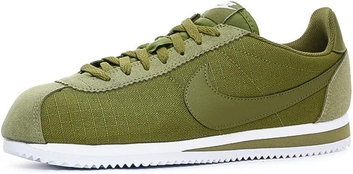 Nike Classic Cortez Nylon Zapatilla Hombre - algodón Talla: 41: Amazon.es: Zapatos y complementos