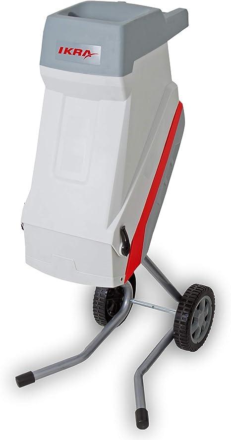 IKRA trituradora de Cuchillas eléctrica IMH 2500, Incl. Saco coletor, 45l, 2500W, Incl. Cuchillas Reversibles: Amazon.es: Bricolaje y herramientas