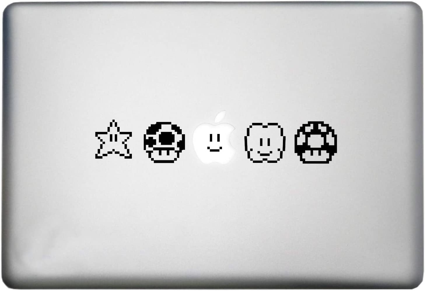Roommates Nintendo Super Mario Bros Characters Vinyl Decal is a Super World Mario Bros MacBook Pro Sticker Art Print Decal. Laptop Sizes 11, 12, 13 and 15 inch. Many Colors-Black