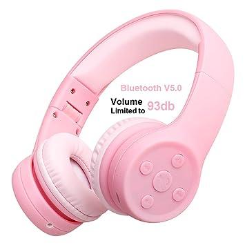 Amazon.com: Auriculares con volumen limitado para niños, con ...