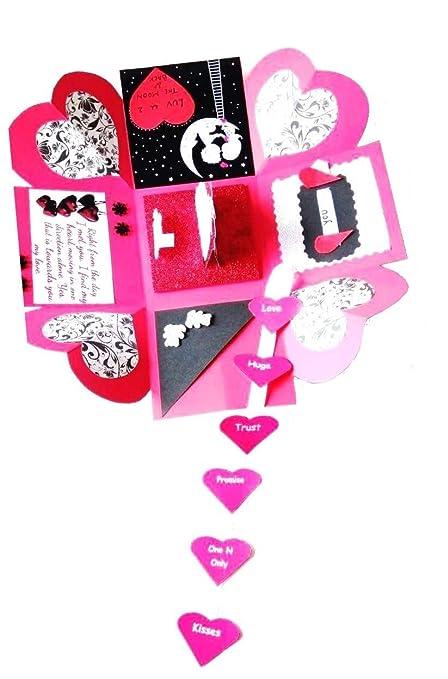 Rmantra Love Theme Romantic Heart Explosion Box Valentine Day