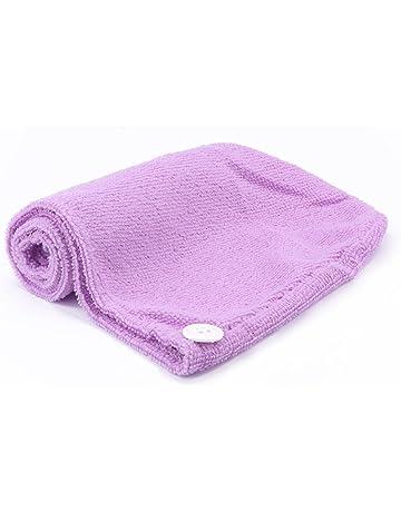 Cap pelo secado Vvciic Agua succión toalla mágica de microfibra de pelo Toalla de