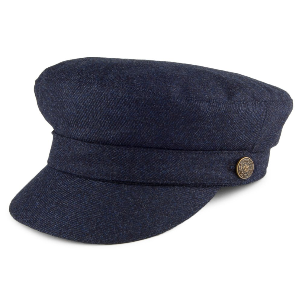 f500be746c7a23 Village Hats Christys Hats Misan Wool Fiddler Cap - Navy X-Large:  Amazon.co.uk: Clothing