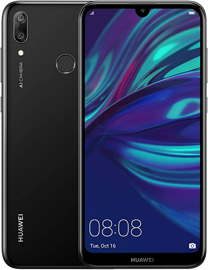 Huawei Y7 (2019) - Smartphone 32GB, 3GB RAM, Dual Sim, Midnight Black: Amazon.es: Electrónica