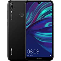 HUAWEI Y7 Prime 2019 32 GB 6.26 inch FullView HD+ Dewdrop Display Smartphone with Dual AI Camera, Android Sim-Free Mobile Phone, 4000 mAh Large Battery, Dual SIM Version, Midnight Black