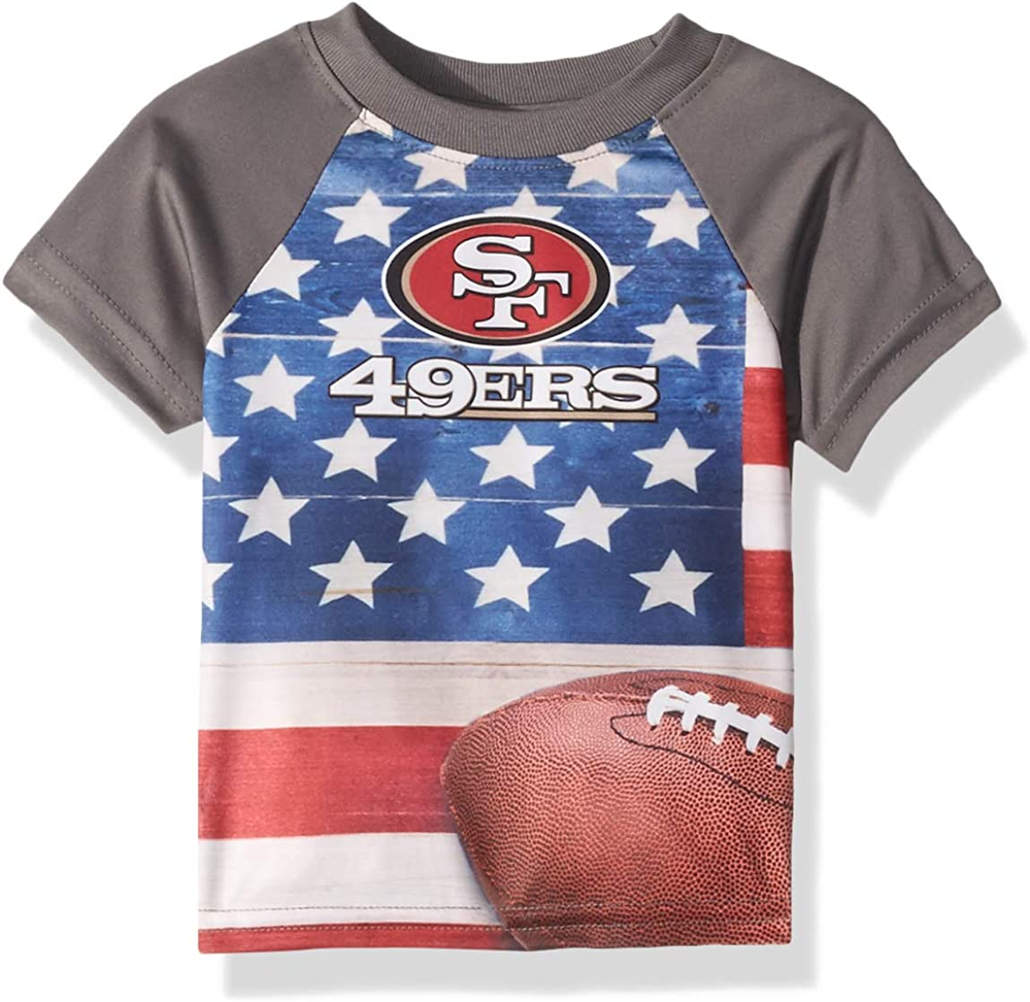 NFL Baby-Boys Short Sleeve Team Flag Tee