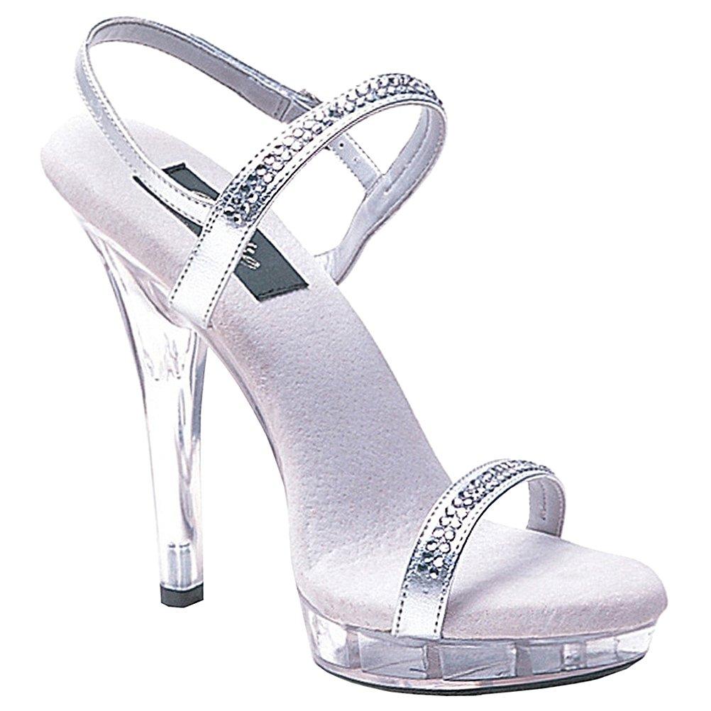 38904c064f934 Amazon.com   Summitfashions Womens Evening Shoes Silver Rhinestone ...