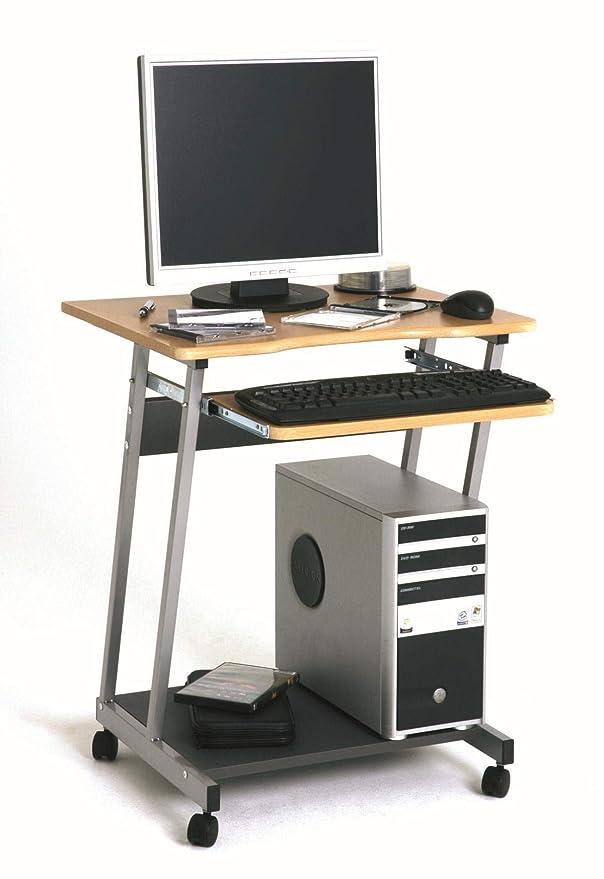 Haku Moebel 91742 - Mesa de dibujo, color aluminio/haya: Amazon.es: Hogar