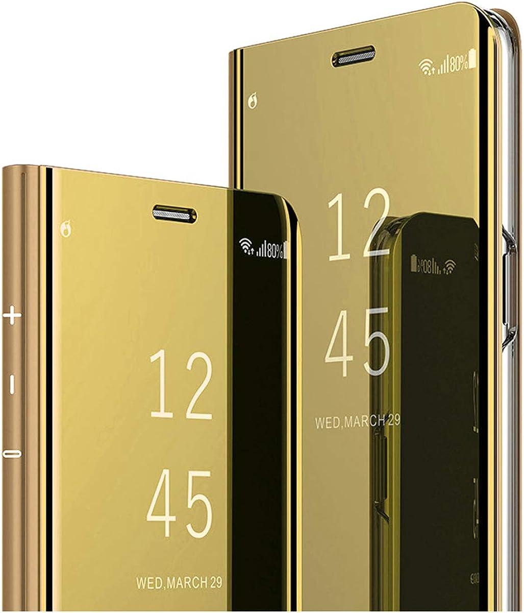 20-Daniei Funda Clear View Standing Cover Xiaomi Redmi Note3, Funda para teléfono con Tapa Protectora con función de Soporte Estuche 360 Grados para Xiaomi Redmi Note3