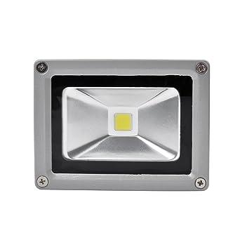 Focos LED Exterior 10W PrimLight Foco Proyector LED Blanco Frio ...