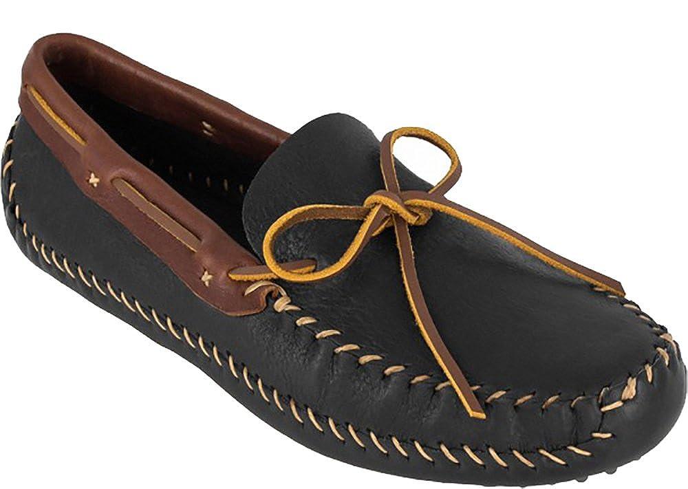 - Minnetonka Men's 6011R - P.W. Driving Moc Leather Collar