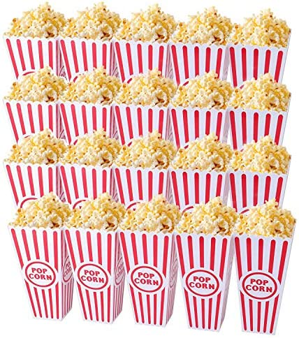 Plastic Open Top Popcorn Reusable Container product image