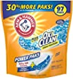 Arm & Hammer Laundry Detergent Plus OxiClean Power Paks, Fresh Scent, 97 Count