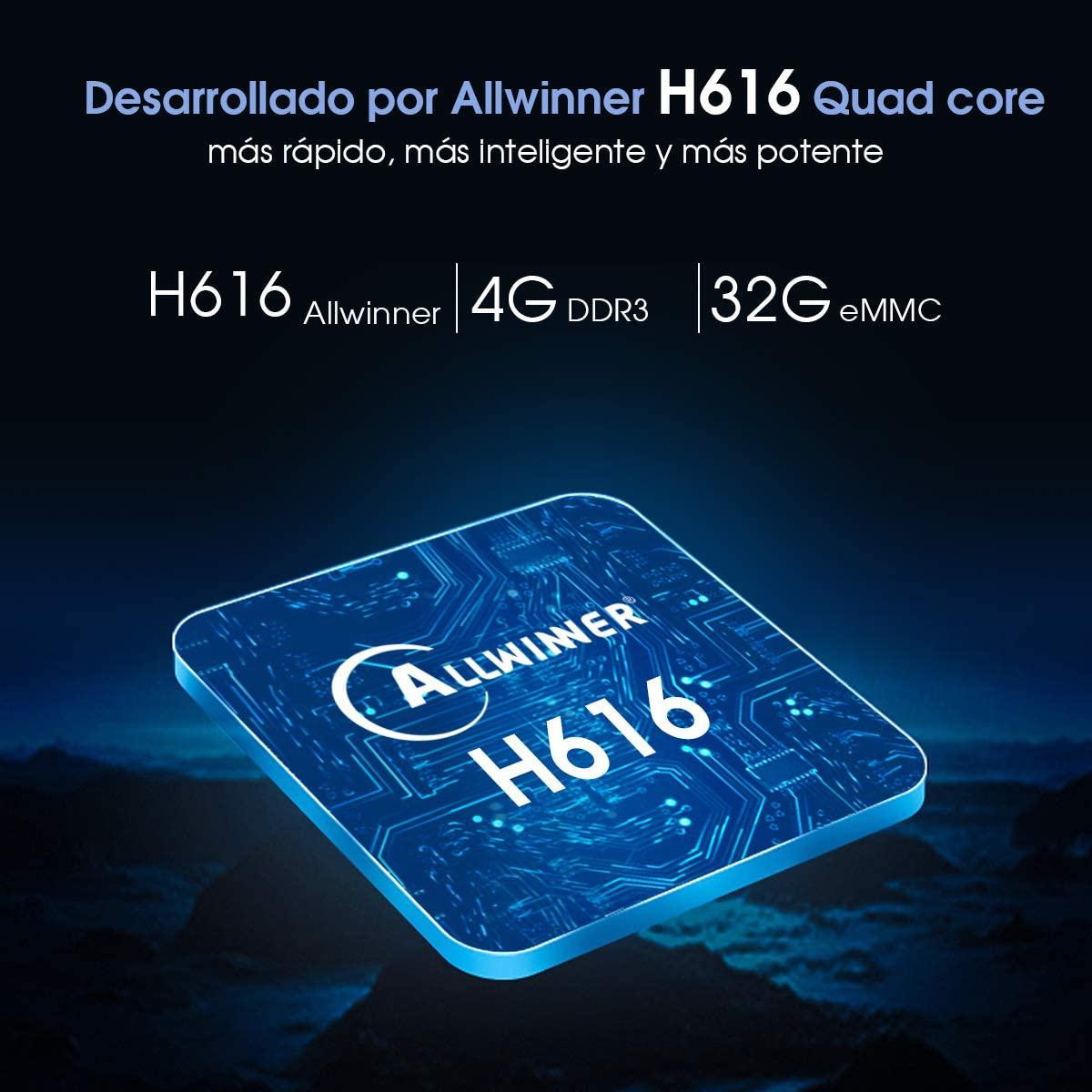 USB 3.0 Ultra HD 6K H.265 Android TV Box 2020 m/ás Nuevo X11 Pro TV Box Allwinner H616 Quad-Core 64bit con Dual-WiFi 2.4G // 5GHz BT 4.2 pendoo Android TV Box 10.0 4GB RAM 64GB ROM,