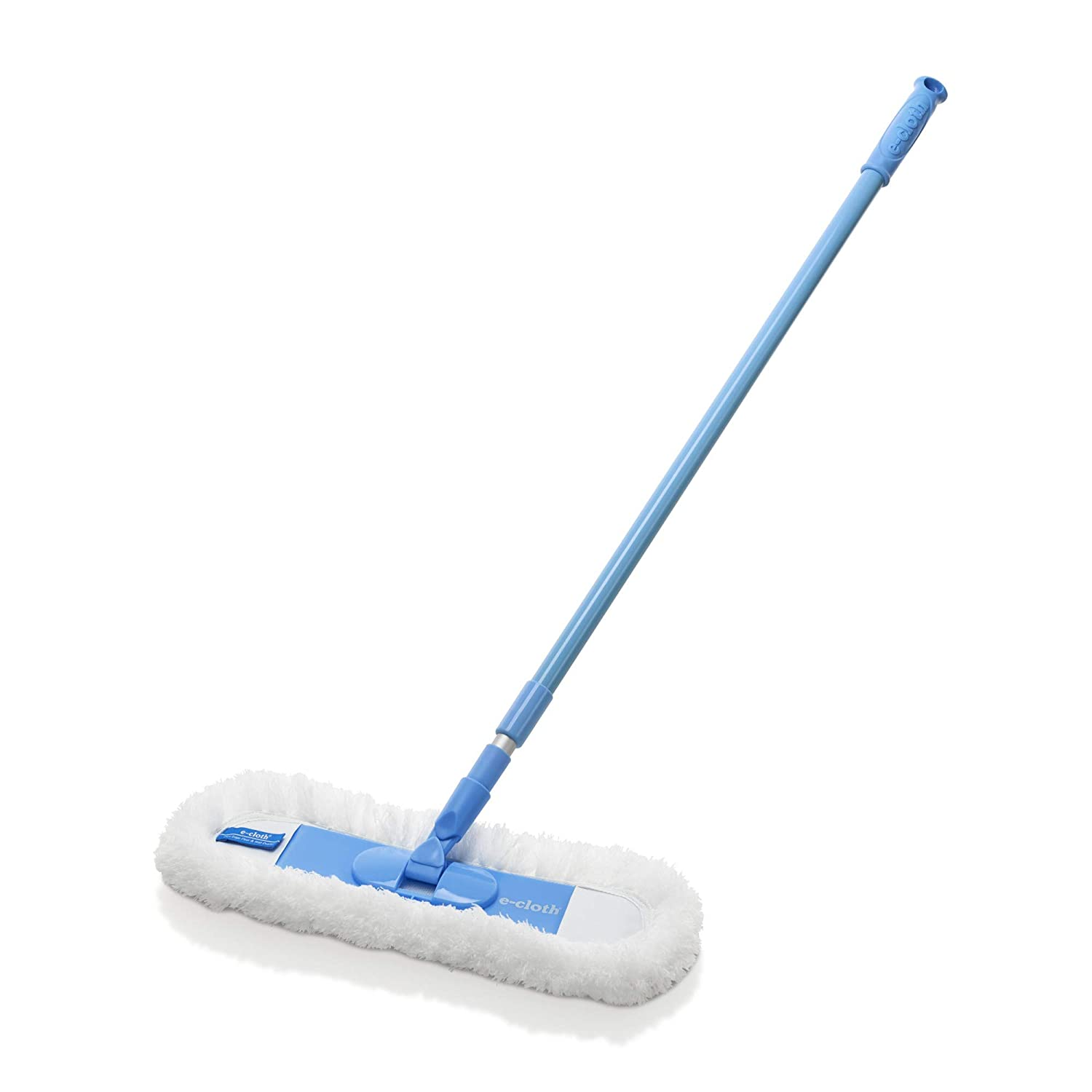 E-Cloth Flexi-Edge Floor & Wall Duster With Sturdy Telescoping Handle - Brilliant for Eliminating Dust, Allergans, Lint From Floors and Walls