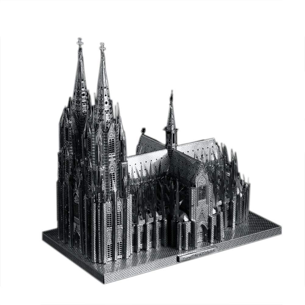 oferta especial plata Wumudidi Arquitectura 3D Modelo Modelo Modelo Alemania Hohe Domkirche San Pedro y María, desafiante Rompecabezas de construcción para Adultos como Regalos de Hobby  perfecto