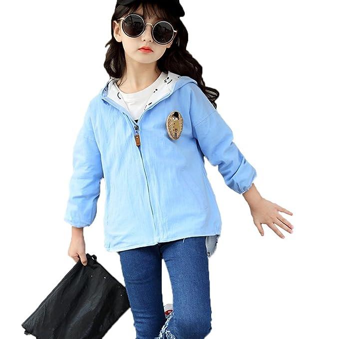 Abbigliamento Vestiti Cappotto Giacche Ragazza Giacca a vento Autunno  Casual Bambini Manica Lunga Cotone Personalità Baby 82508090621